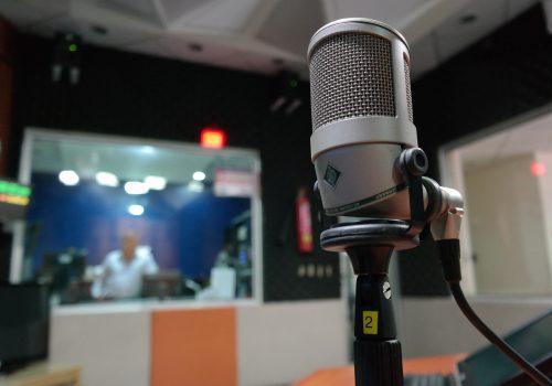 i suoni in studio